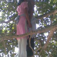 Couple Commit Suicide - By Hanging Together In A Tree