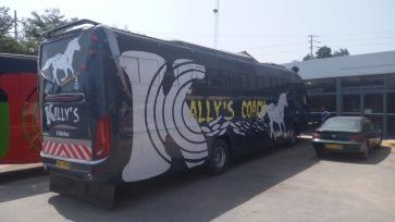 Former Spanish Bus, now rebranded to Kally's