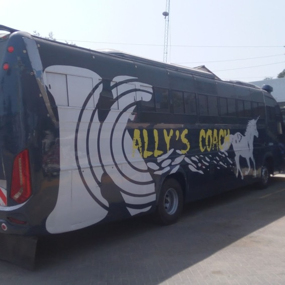 Former Spanish Bus, now rebranded to Kally's
