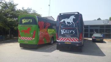 Former Spanish Buses, taken over and rebranded